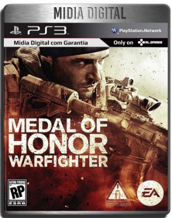 Medal Of Honor Warfighter - Ps3 Psn - Mídia Digital