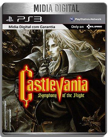 Castlevania Simphony Of The Night - Clássico De Ps1 - Ps3 Psn - Mídia Digital