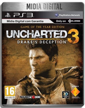Uncharted 3 Game Of The Year - Ps3 Psn - Mídia Digital