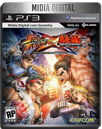 Street Fighter X Tekken -  Ps3 Psn - Mídia Digital