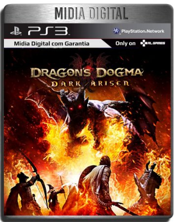 Dragons Dogma Dark Arisen - Ps3 Psn- Mídia Digital