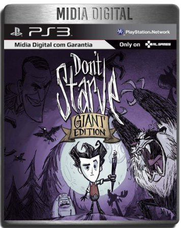 Dont Starve Giant Edition - Ps3 Psn - Mídia Digital