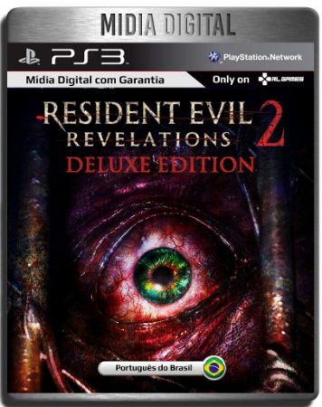Resident Evil Revelations 2 Deluxe + dlcs - Ps3 Psn - Mídia Digital