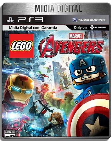 Lego Marvel Vingadores Avengers - Ps3 Psn - Mídia Digital