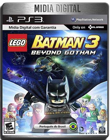 Lego Batman 3 : Beyond Gotham - Ps3 Psn - Mídia Digital