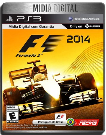 F1 2014 Formula 1 2014 Português - Ps3 Psn - Mídia Digital