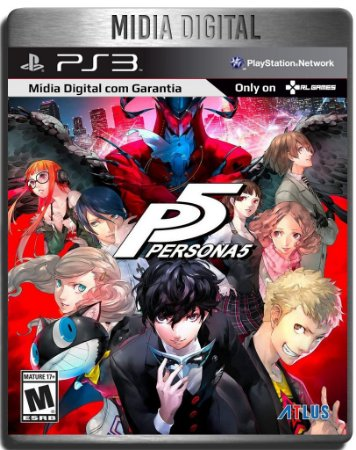 Persona 5 + 10 Dlcs - Ps3 Psn - Mídia Digital