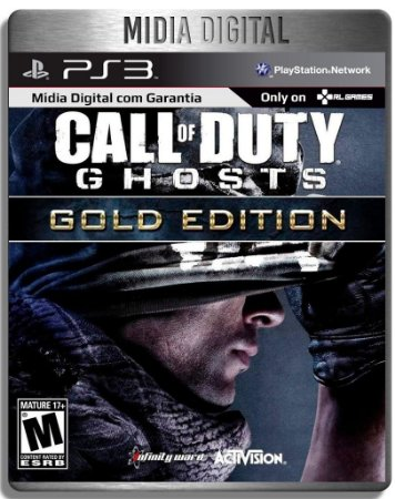Call Of Duty Cod: Ghosts Gold Edition + dlc Onslaught - Ps3 Psn - Mídia Digital