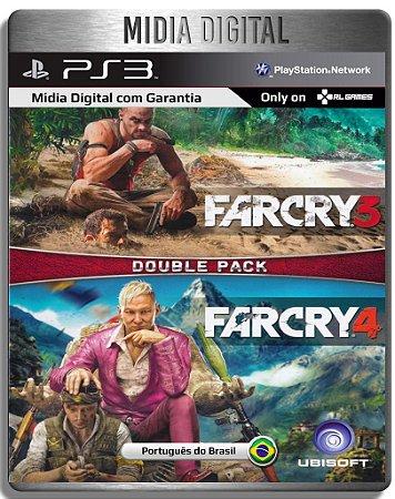 Far Cry 3 + Far Cry 4 - Ps3 Psn - Mídia Digital