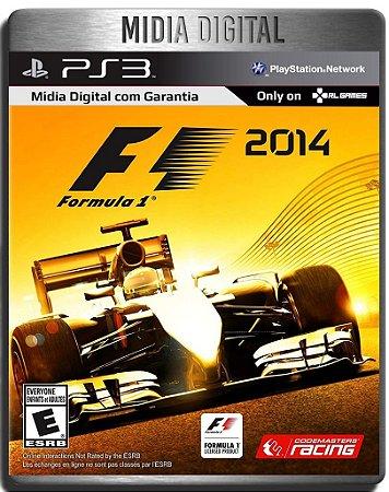 F1 2014 Formula 1 2014 Inglês - Ps3 Psn - Mídia Digital