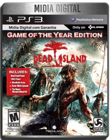Dead Island Game Of The Year Edition - Ps3 Psn - Midia Digital