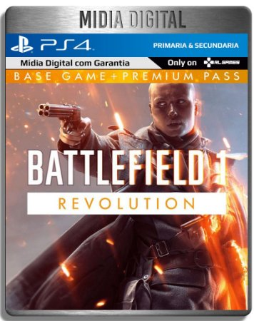 Battlefield 1 Revolution - Ps4 Psn - Midia Digital