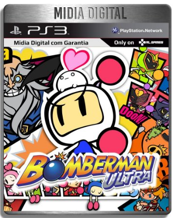 Bomberman Ultra - Ps3 Psn - Midia Digital
