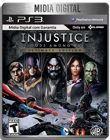 Injustice Gods Amoung Us Ultimate Edition - Ps3 Psn - Midia Digital