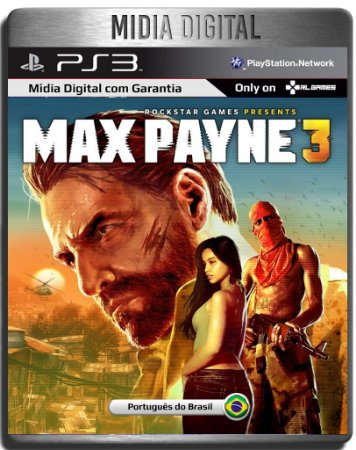 Max Payne 3 - Ps3 Psn - Midia Digital
