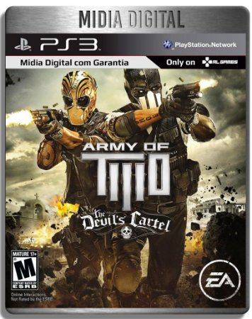 Army Of Two The Devils Cartel - Ps3 Psn - Midia Digital