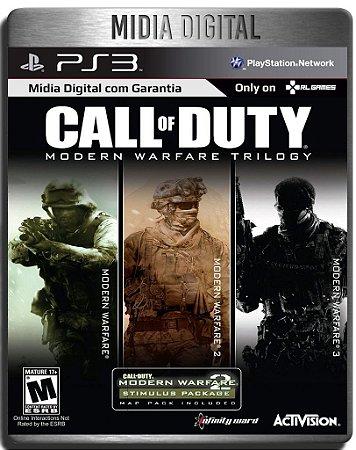 Call Of Duty Modern Warfare Trilogy - Ps3 Psn - Midia Digital