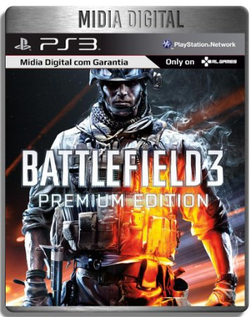 Battlefield 3 Premium Edition Bf3 - Ps3 Psn - Midia Digital