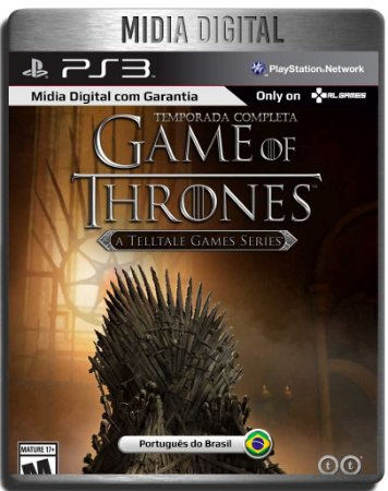 Game Of Thrones Telltale Temporada Completa - Ps3 Psn - Midia Digital