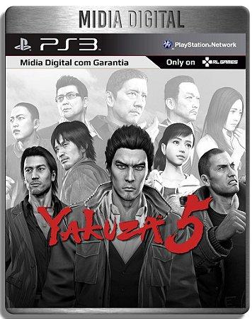 Yakuza 5 - Ps3 Psn - Midia Digital