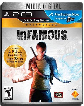 Infamous Collection - 3 Jogos - Ps3 Psn - Midia Digital