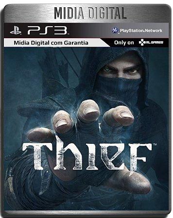 Thief + Dlc Roubo Ao Banco - Ps3 Psn - Midia Digital