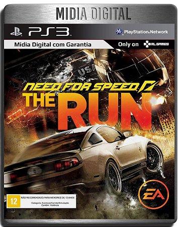 Need For Speed The Run - Ps3 Psn - Midia Digital