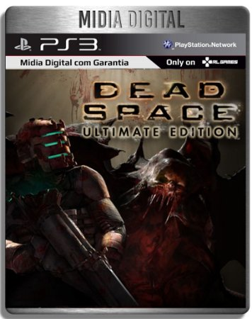 Dead Space 1 Ultimate - Ps3 Psn - Midia Digital