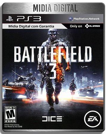 Battlefield 3 Bf3 - Ps3 Psn  - Midia Digital