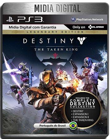 Destiny The Taken King Edição Lendária - Ps3 Psn - Midia Digital