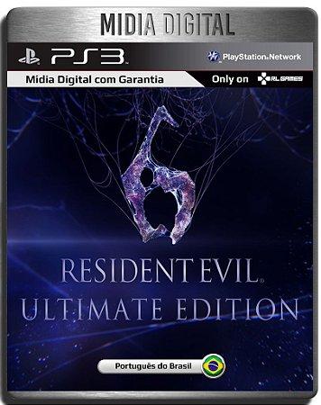 Resident Evil 6 Ultimate Edition + Dlcs - Ps3 Psn - Midia Digital
