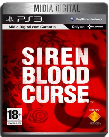 Siren Blood Curse - Ps3 Psn - Midia Digital