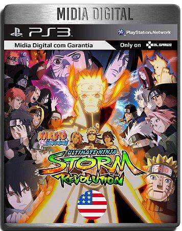 Naruto Shippuden Ultimate Ninja Storm Revolution Ingles - Ps3 Psn - Midia Digital