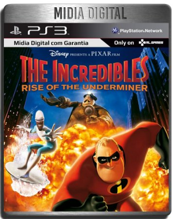 Os Incriveis 2 Rise Of The Underminer Ps2 Classicos - Ps3 Psn - Midia Digital