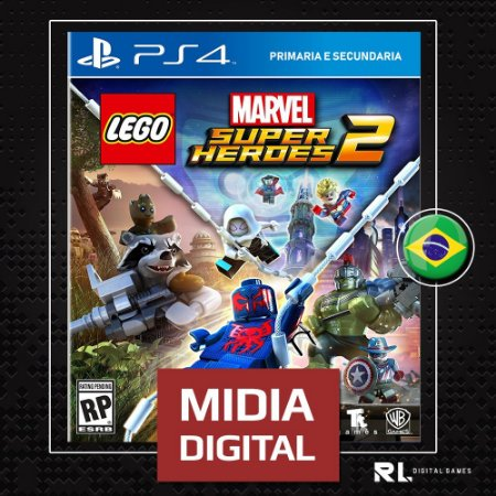 Lego Marvel Super Heroes 2 - Ps4 Psn - Midia Digital