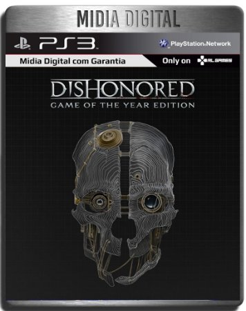 Dishonored + Todas As Dlcs - Ps3 Psn - Midia Digital