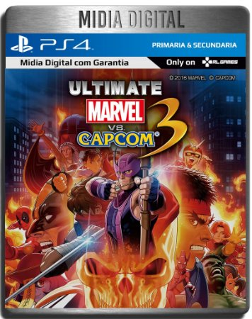 Ultimate Marvel Vs Capcom 3 - Ps4 Psn Primaria - Midia Digital