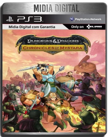 Dungeons And Dragons Chronicles Of Mystara - Ps3 Psn - Midia Digital