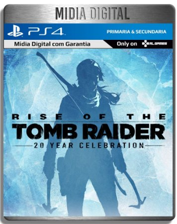 Rise Of The Tomb Raider - Ps4 Psn Primaria - Midia Digital