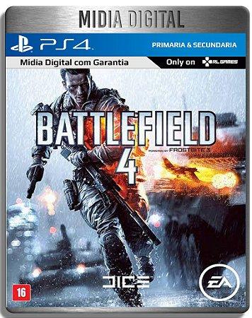 Battlefield 4 Bf4 - Ps4 Psn Primaria - Midia Digital
