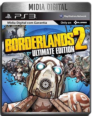 Borderlands 2 Ultimate Edition + Dlcs - Ps3 Psn - Mídia Digital