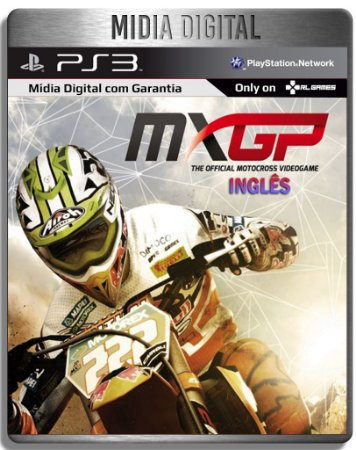 MXGP The Official Motocross Videogame Ingles - Midia Digital PSN PS3 Playstation 3