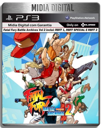 Real Bout Fatal Fury Collection - Inclui 3 Jogos - Ps3 Psn - Midia Digital