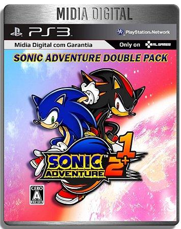 Sonic Adventure 1 e 2 - Ps3 Psn - Midia Digital