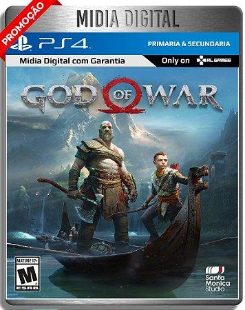 God of War Gow - Ps4 Psn - Midia Digital Primária