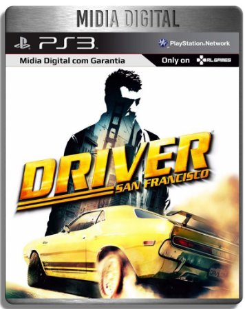 Driver San Francisco - Ps3 Psn - Midia Digital