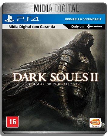 Dark Souls 2 Scholar of The First Sin - Ps4 Psn - Midia Digital Primaria