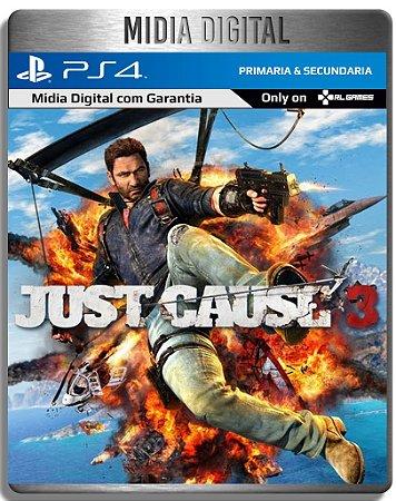 Just Cause 3 - Ps4 Psn - Midia Digital Primaria