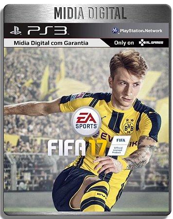 FIFA 17 - Ps3 Psn - Midia Digital