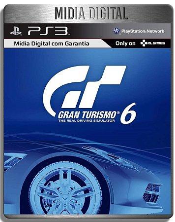 Gran Turismo 6 - Ps3 Psn - Midia Digital